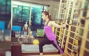 Alia Bhatt Pilates