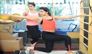 Deepika Padukone Pilates training with Yasmin