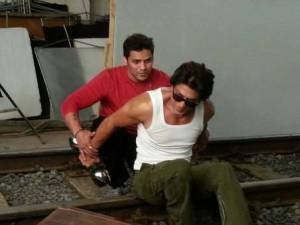 Prashant training Shah Rukh Khan